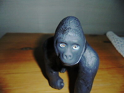Happy Gorilla  Toy Statue (Says Learning Resources) Roughly 6 1/4 Inch Head Toe