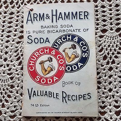 arm and hammer valuable recipes-1921