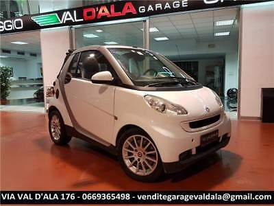 Smart forTwo Turbo 62 kW cabrio passion pelle nera