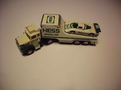 Vintage Hess Truck 1988 With Race Car No Box