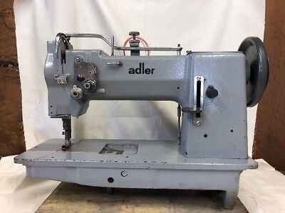 German Adler 167 GK373 Triple Feed Walking Foot Sewing Machine