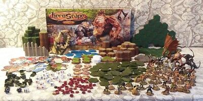 Heroscape Swarm of the Marro Master Set Complete w/ Near Complete Rise Valkyrie