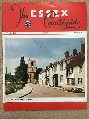 Essex Countryside magazine May 1961 - Epping, Upminster