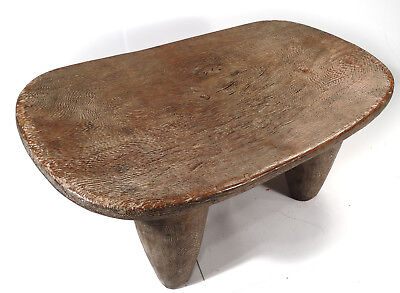 Nice hand-carved African Senufo stool, native used, SEN204