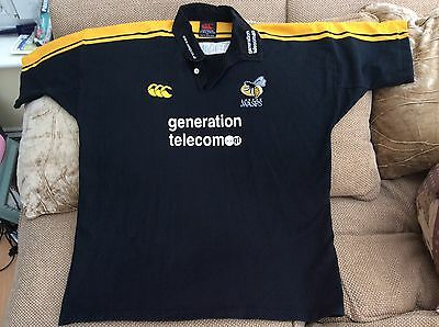 Canterbury London Wasps Rugby Union Home Shirt Season 2002-03 XXL In Great Cond