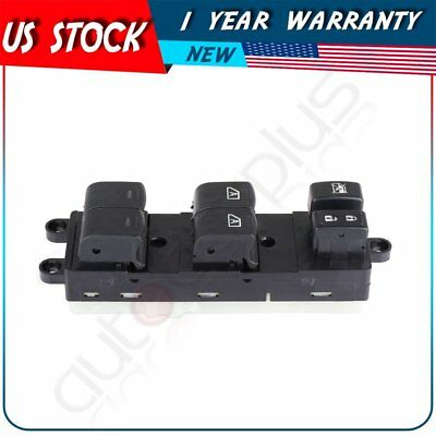 Master Power Window Switch Driver Side Front LH for 2007-2012 Nissan Pathfinder