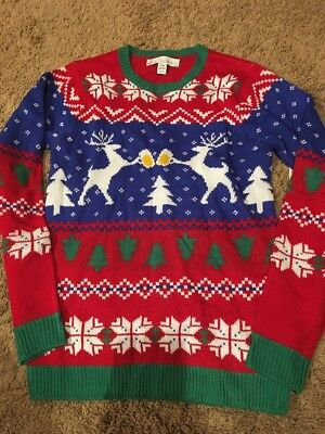 New Ugly Christmas Sweater Party Mens Small New!!
