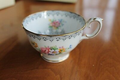 Vintage Crown Staffordshire Bone China ~ Tea Cup