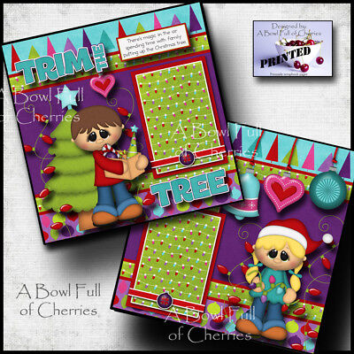 SHELTER IN PLACE Printed Premade Scrapbook Pages