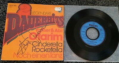 "ESTHER OFARIM: Cinderella Rockefella - 7"" Single, Coverhülle SIGNIERT"