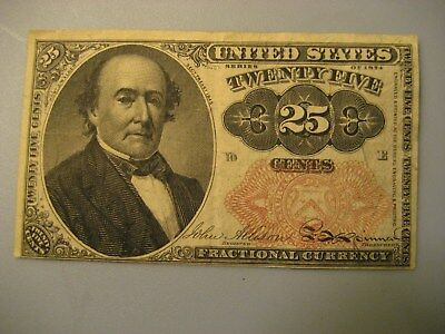 1874 - 25 cents US Fractional Currency, Fifth issue