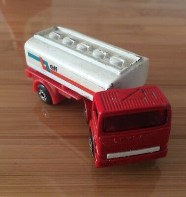 Matchbox Elf Articulated Tanker Made In England By Lesney