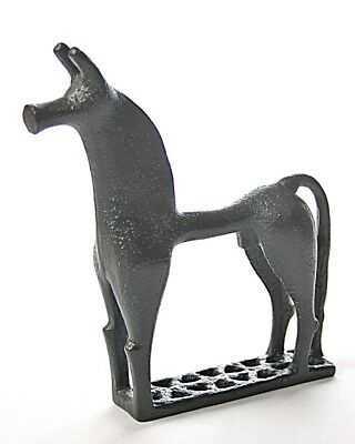 Greek Horse Geometric Abstract Small Statue Museum Replica 6.5H