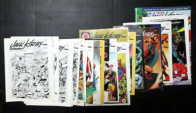 Large Set (25) of THE JACK KIRBY COLLECTOR (Including rare #1-9)