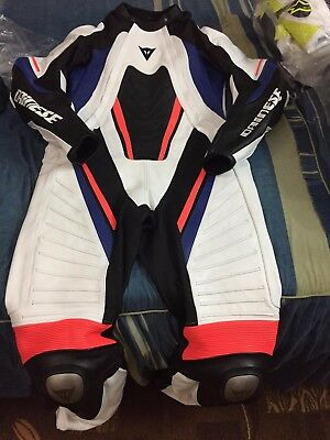 Motorbike leather suit motorcycle leather suit riding suit racing suit all size