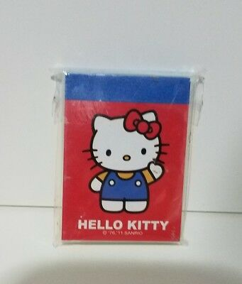2011 Hello Kitty Sanrio Notepad 80 Sheets Mini Note Book Miniature NEW Kawaii