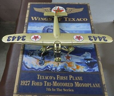Wings of Texaco 1927 Ford Tri-Motored Monoplane #7 in the Series of Collectables
