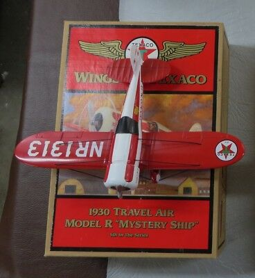 "Wings of Texaco ""1930 Travel Air Model ""R"" Mystery Ship #5 in the Series"