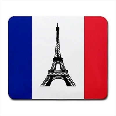 New France Flag Eiffel tower for Large Mousepad PC Mouse Pad free shipping