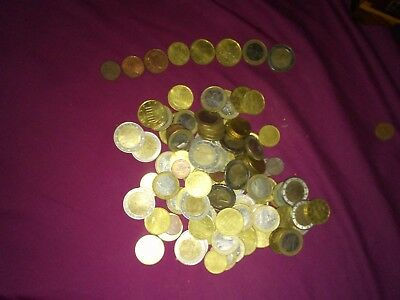 101 dollar Euro , 1,2,5,10,20,50 cents and 1,2 dollar coins they are 2002-2004