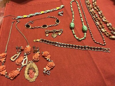 Vintage Estate Old Jewelry Mix Lot