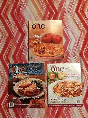 Lot of 3 Penzeys One cooking/recipes/gourmet magazines 2006-2007