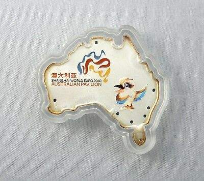2010 Shanghai World Expo Australia Shaped $1 Coin