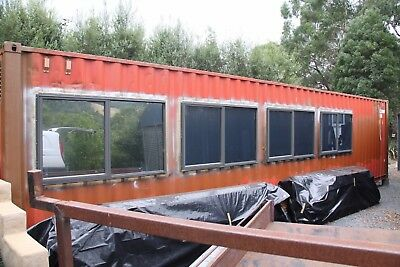 40ft Shipping Container Workshop