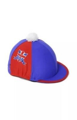 Bn Carrots Number 1 Rider Skull Cap Cover Union Jack One Size
