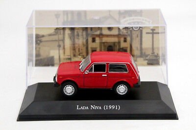 1:43 Altaya Lada Niva 1600 1991 Car Diecast Models Limited Edition Collection