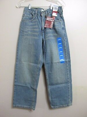 Boys Levis 569 loose fit straight Legs size 14 - 27/ 27 New with tags.