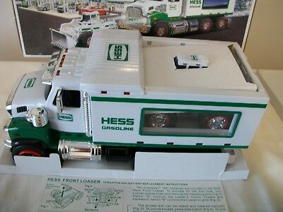 2008 Hess Toy Truck and Front Loader Brand New in Box