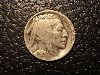 Better Date 1916-S Buffalo Nickel VF Detail WE COMBINE ON SHIPPING
