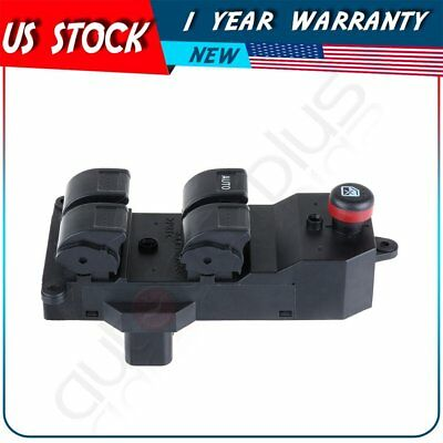Master Power Window Switch Driver Side Front for Honda Civic CRV