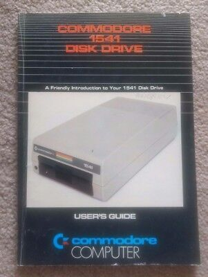 Commodore 1541 Disk Drive Users Guide