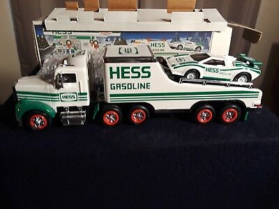 Hess Toy Truck and Racer 1991 New in Box