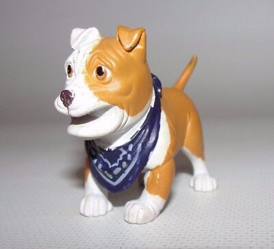 "Hood Pup Dog 2"" with neck scarf figure  hard to find collectible"
