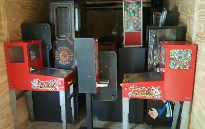 Lot of Toy Capsule, Sticker, Tatoo, Gum Vending Machines All for 1 Price