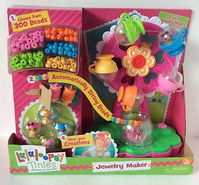 Lalaloopsy Tinies 2-in-1 Jewelry Maker & Playset - New in Box