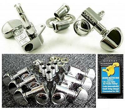 <Clearance> Grover 106 Full 18:1 Locking Guitar Tuners Set  3 X 3