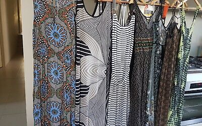 Maxi Dresses x 7 Bulk Lot Size M/10/12 French Connection/ Mink Pink/Boohoo AsNew