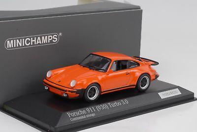 1974 1977 Porsche 911 930 3.0 Turbo Continental orange 1:43 Minichamps 1/200pcs
