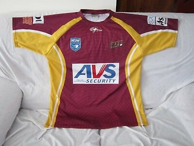 Nsw Rugby League Guildford Classic Sports Training Shirt Size 2Xl