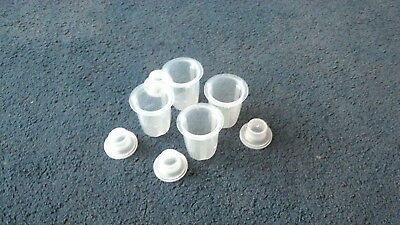 Babies Plastic Formula Milk Dispensers x 4