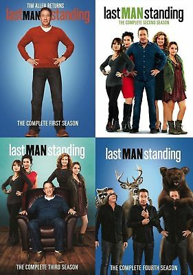Last Man Standing: Complete Season  1-4  (DVD,12-Disc Set) 1 2 3 & 4 NEW