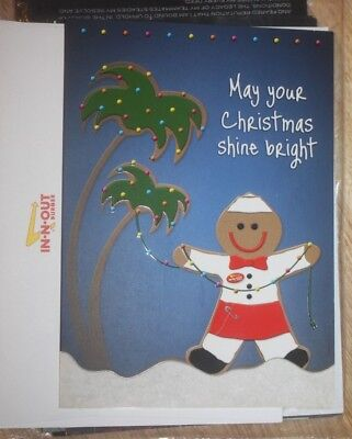 NEW! 2010 IN-n-OUT Restaurant Christmas Cards Hamburgers Southern California Fry