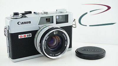 Canon Canonet Ql17 Giii Excellent Cond, New Light Seals Working