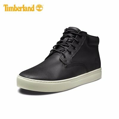 1695a1bb261c0 TIMBERLAND MEN S DAUSET Cup Chukka Black Leather Shoes Style A1815 ...