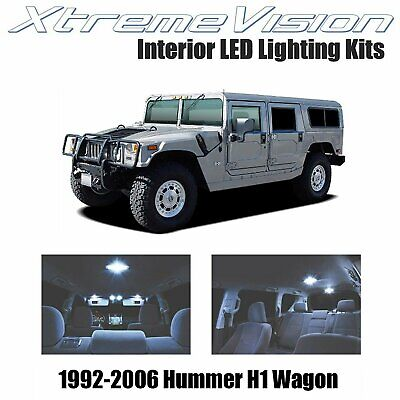XtremeVision LED for Hummer H1 Wagon 1992-2006 (14 Pieces) Cool White Premium...