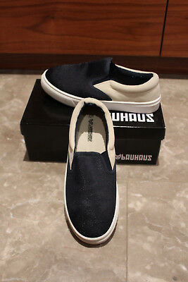 Boys Teen Loafer Shoes, Slip On, Bauhaus, Brand New In Box, Size 5.